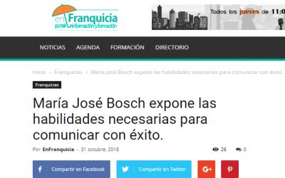 GuíaBurros: Comunicar con éxito en EnFranquicia, medio online especializado en franquicias.
